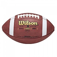 [해외]WILSON NCAA 1005 Leather Football Official Brown