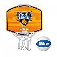 [해외]윌슨 Mini Hoop Fanatic Basketball Kit Orange