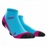 [해외]CEP Dynamic+ Low Cut Socks Hawaii Blue / Pink