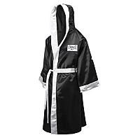 [해외]EVERLAST EQUIPMENT Full Length Robe With Hood Black / White