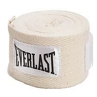 [해외]EVERLAST EQUIPMENT Handwraps Natural