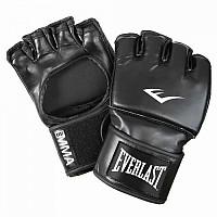 [해외]EVERLAST EQUIPMENT Martial Art Open Thumb Gloves Black