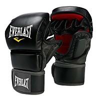 [해외]EVERLAST EQUIPMENT Striking Training Gloves Black