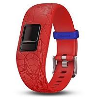 [해외]가민 Vivofit Junior 2 Band Spiderman Red