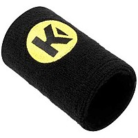 [해외]KEMPA Caution Wristband Black / Fluo Yellow