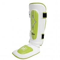 [해외]KRF Pro Shin Guard With Foot Protection White