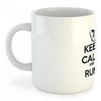 [해외]KRUSKIS Mug Keep Calm And Run White