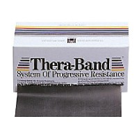 [해외]THERABAND Band 5.5 M X 15 Cm Silver