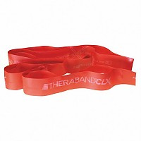 [해외]THERABAND CLX 11 Loops Medium Red