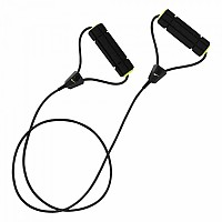 [해외]나이키 ACCESSORIES Long Length Medium Resistance Band 2.0 Volt / Black / Volt