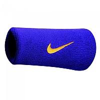 [해외]나이키 ACCESSORIES Swoosh Double Wide Wristbands Field Purple / Yellow