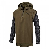 [해외]푸마 1/4 Zip Energy Hoodie Olive Night