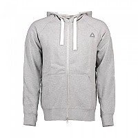 [해외]리복 LM Zip Hoodie Light Grey Heather