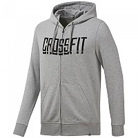 [해외]리복 CROSSFIT Zip Hoodie Medium Grey Heather