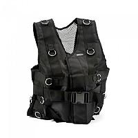 [해외]SALTER Vest With Rings Black