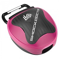[해외]SHOCK DOCTOR Mouthguard Case Pink