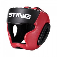 [해외]STING Armalite Full Face Headguard Black / Red
