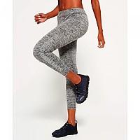 [해외]슈퍼드라이 Core Gym Legging Speckle Charcoal