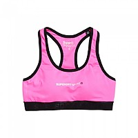 [해외]슈퍼드라이 Core Gym Bra Neon Pink