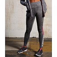 [해외]슈퍼드라이 Sport Enl S Highwst Legging Speckle Charcoal