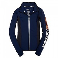 [해외]슈퍼드라이 Sport Essentials Track Top Dark Navy