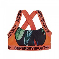 [해외]슈퍼드라이 Sport Colourblock Bra Tara Tropical / Hot Coral