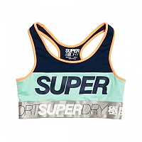 [해외]슈퍼드라이 Spin Workout Bra Spin Navy / Neon Orange / Cool Mint / S Grey