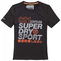 [해외]슈퍼드라이 Active Graphic Black / Fluro Orange
