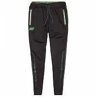 [해외]슈퍼드라이 Training Pants Black / Fluro Green