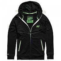 [해외]슈퍼드라이 Training Ziphood Black / Fluro Green
