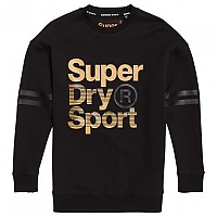 [해외]슈퍼드라이 Gym Tech Gold Supercrew Black