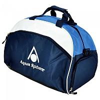 [해외]AQUASPHERE Medium Sport Bag Navy / White