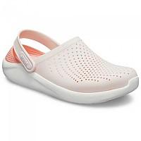 [해외]크록스 LiteRide Clog Barely Pink / White