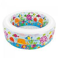 [해외]인텍스 Inflatable Aquarium Swimming Pool Clear / Multicolor