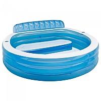[해외]인텍스 Familiar Pool With Chair Blue
