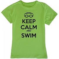 [해외]KRUSKIS Keep Calm And Swim Light Green