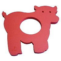 [해외]LEISIS Cow Floating Mat Red