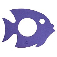 [해외]LEISIS Fish Floating Mat Violet