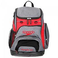 [해외]SPEEDO Teamster Rucksack 35L Heather Grey / Red