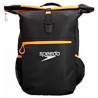 [해외]SPEEDO Team Rucksack III Plus 45L Black / Fluo Orange