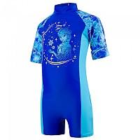 [해외]SPEEDO All In One Beautiful Blue / Turquoise / Pink Splash
