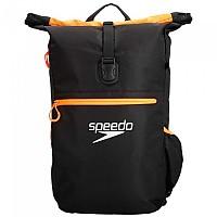 [해외]SPEEDO Team Rucksack III 30L Black / Fluo Orange