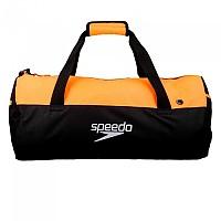 [해외]SPEEDO Duffel Bag 30L Black / Fluo Orange