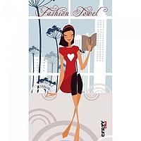 [해외]STT SPORT Crazy Towel Love My Book Terry Loop Multicolour