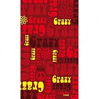 [해외]STT SPORT Crazy Towel Crazy Hippie Roja Compact Red