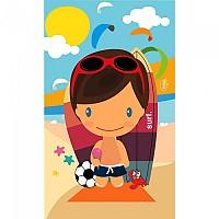 [해외]STT SPORT Crazy Towel Beach Boy Compact Multicolour