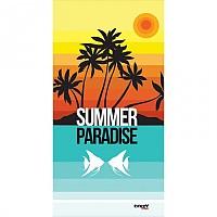 [해외]STT SPORT Crazy Towel Summer Paradise Compact Blue