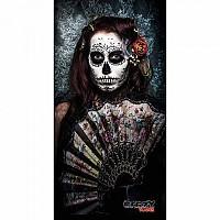 [해외]STT SPORT Crazy Towel Gothic Woman Compact Black