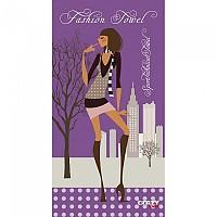 [해외]STT SPORT Crazy Towel Fashion Towel Compact Purple