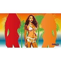 [해외]STT SPORT Crazy Towel Sexy Beach Compact Multicolour